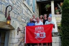 Avanti overal 20180810 Kurt Caestecker en vrienden Castelnaud