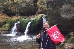 Avanti overal - Delphine Van Besien in Mullerthal Luxemburg