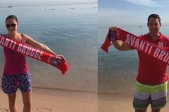 Avanti overal: Dieter en Jessica Puype aan de Rode Zee in Egypte