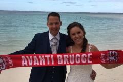 Avanti overal trouwpartij Jessie en Dieter in Mauritius